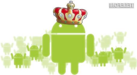Delež mobilnih naprav Android je v letu 2014 znašal kar vrtoglavih 81 odstotkov.