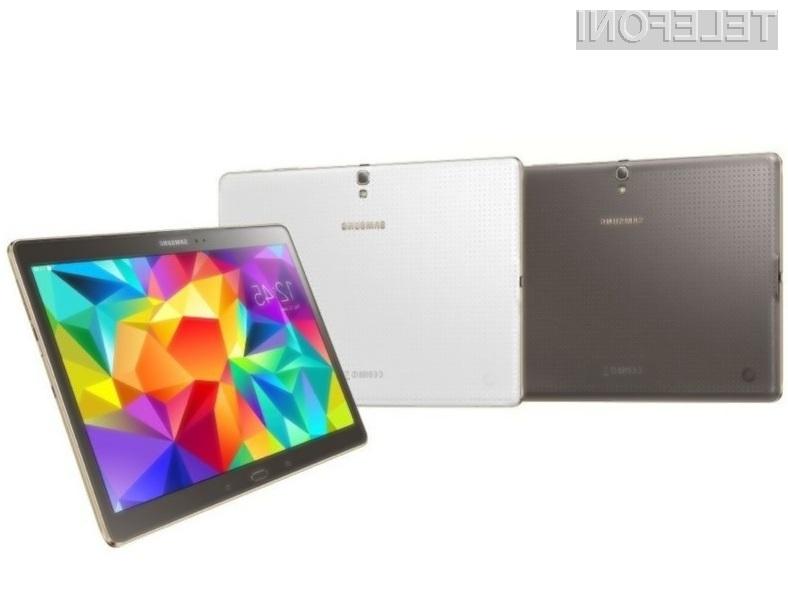 Nove tablice Samsung Galaxy Tab S naj bi na trg prispele predvidoma še pred začetkom letošnjega poletja.