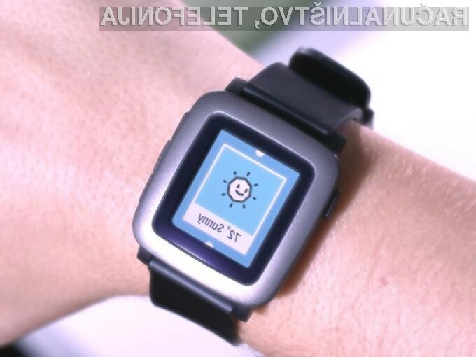 Pametna ročna ura Pebble Time je takoj prepričala uporabnike spletnega portala Kickstarter!