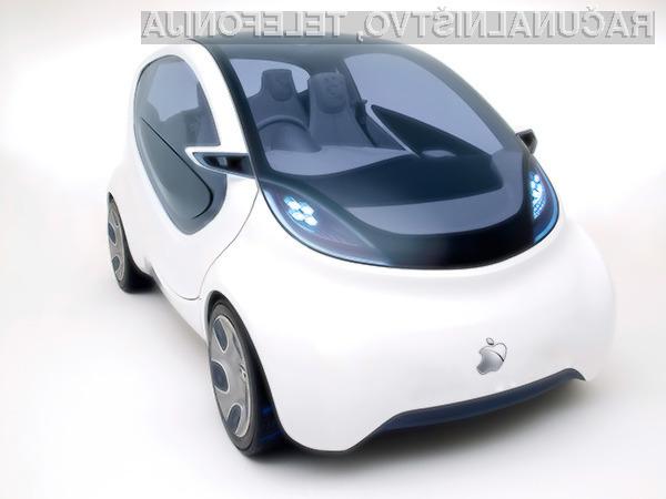 Applov projekt razvoja lastnega vozila očitno pred večjimi spremembami