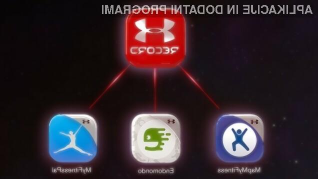 Podjetje Under Armour je kupilo vaše fitnes podatke