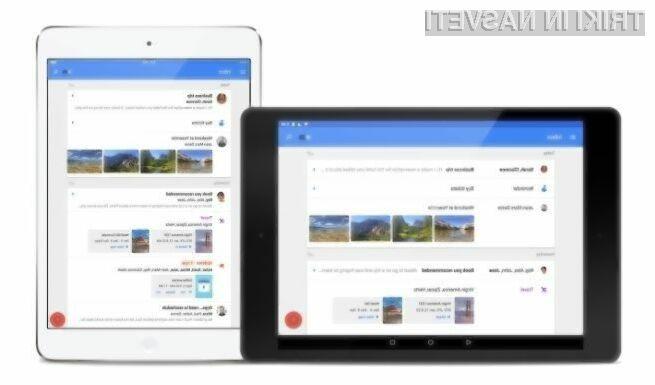 Google Inbox je odslej na voljo tudi kot aplikacija za mobilne naprave Android in iOS.