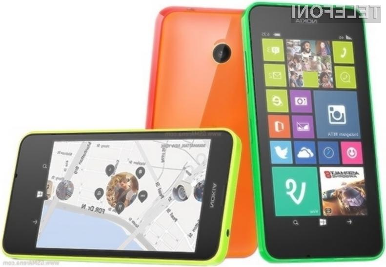 Microsoft Lumia 635 bo kot nalašč za namestitev mobilnega operacijskega sistema Windows Phone 10!