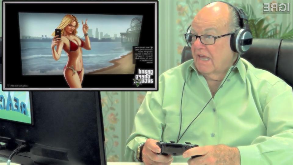 Starejši »igričarji« so igro Grand Theft Auto V takoj vzljubili!