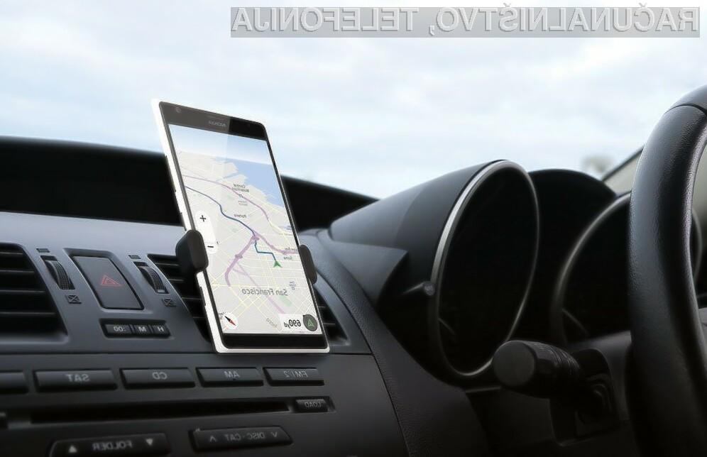 Vemo zakaj e vedno nimate dr ala za telefon v avtu