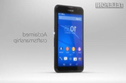 Sony s pametnim mobilnim telefonom za 115 evrov!