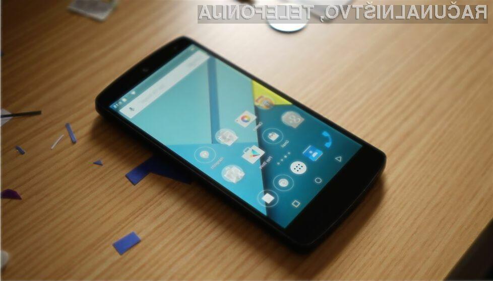 Android Lollipop prilezel na 3,3 odstotke