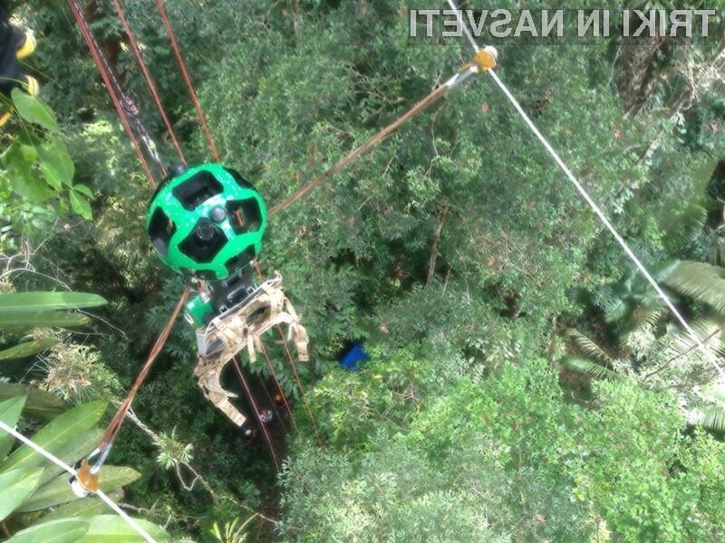 Potovanje po Amazonki je odslej mogoče kar z uporabo spletne storitve Google Street View.
