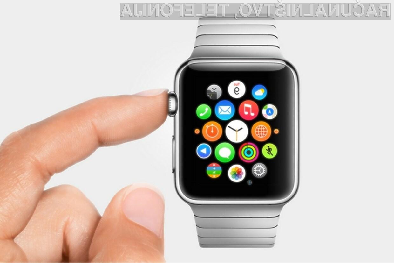 Apple si lahko od pametne ročne ure Watch obeta bajne zaslužke!