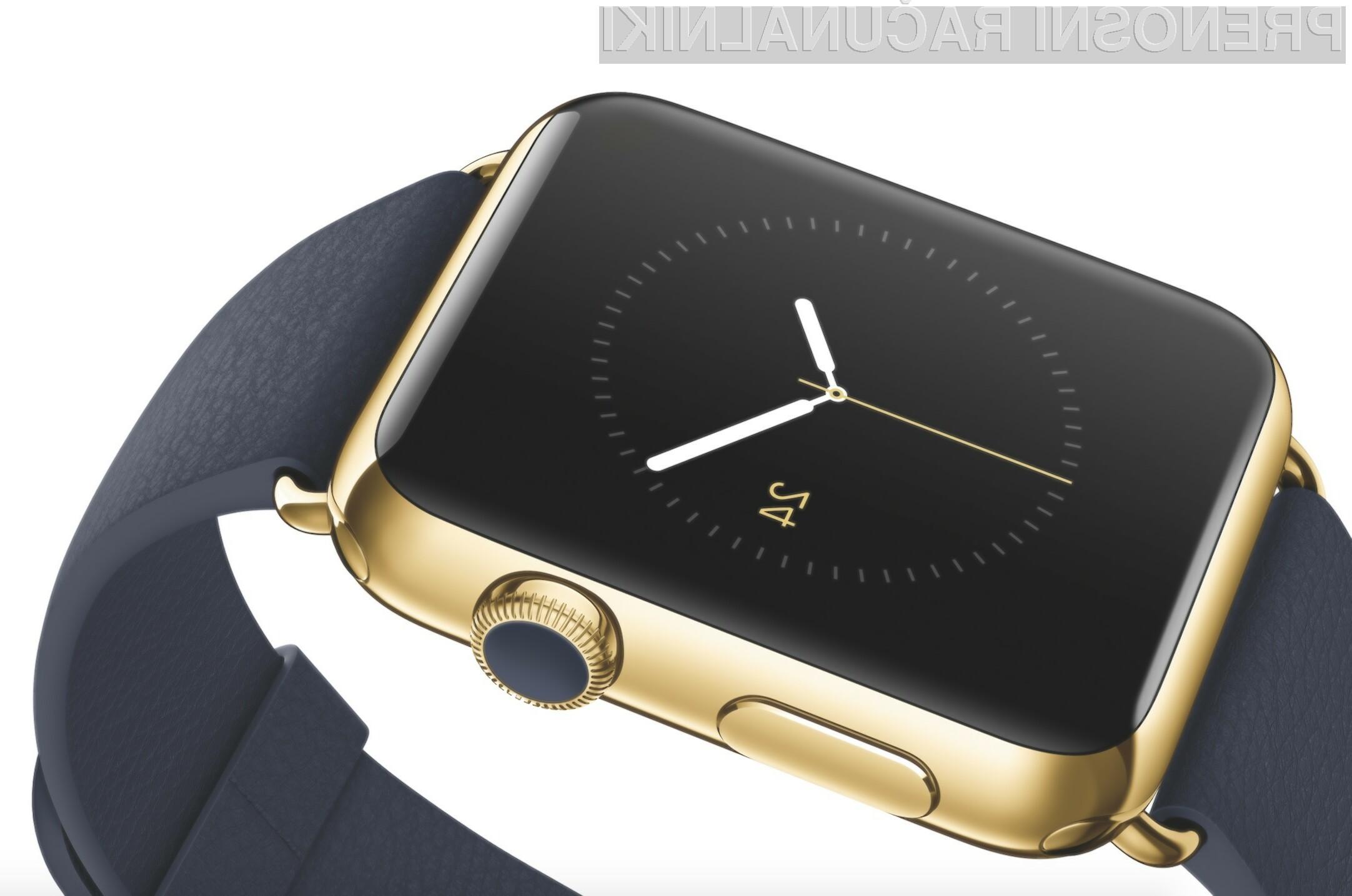 Slabo povpraševanje po pametni ročni uri Apple Watch!