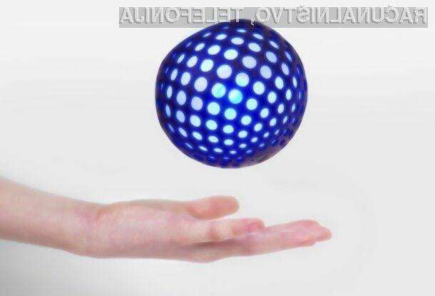 Glavni adut pametne žoge Hackaball je možnost uporabe programske opreme za programiranje preprostih ukazov.