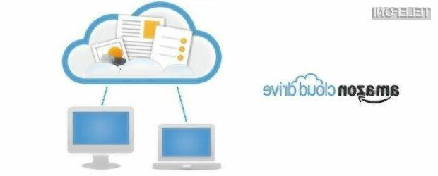 Amazon Cloud Drive z neomejenim prostorom za shranjevanje podatkov!