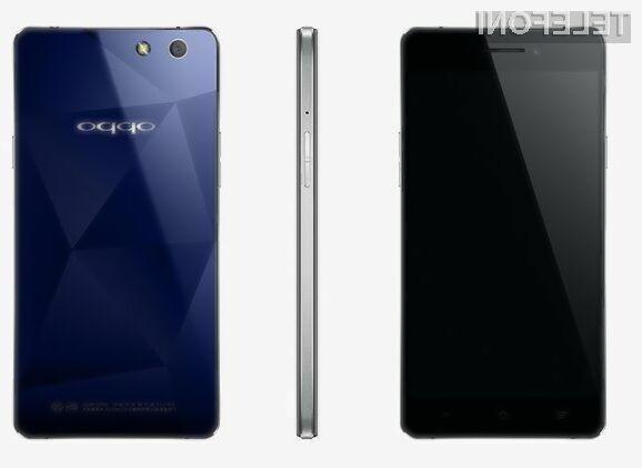 Pametni mobilni telefon R1x podjetja Oppo naj bi bil naprodaj po izjemno ugodni maloprodajni ceni.