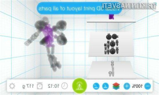 Ustvarjanje 3D modelov za 3D tiskalnike še nikoli ni bilo enostavnejše!