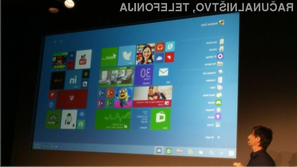 Windows 10 se bo odlično znašel tudi na manj zmogljivih napravah!