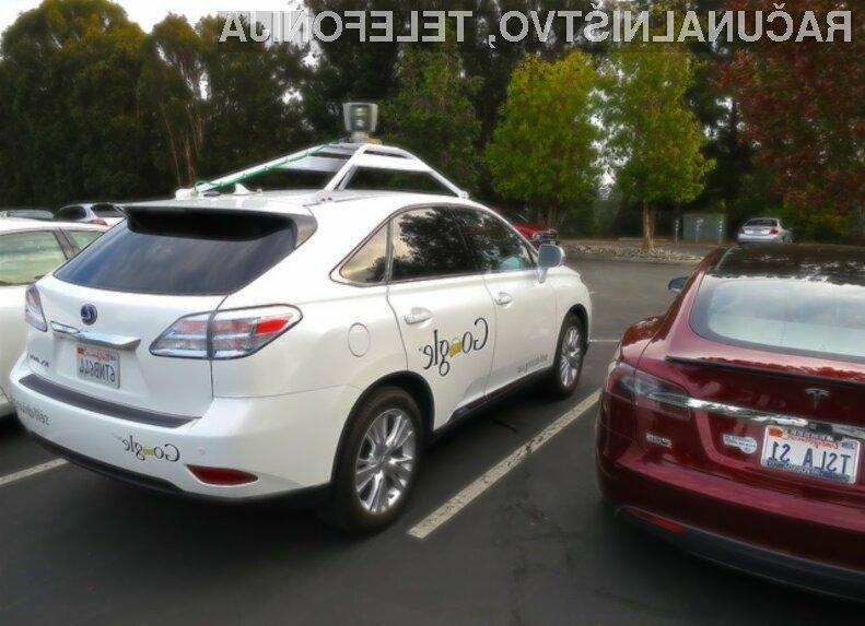 Googlov samovozeči avtomobil naj bi precej zmanjšal število prometnih nesreč!
