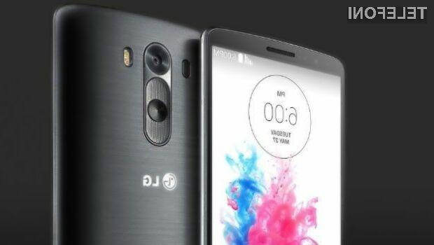 Rahlo upognjena zadnja stranica mobilnika LG G4 naj bi močno izboljšala uporabniško izkušnjo!