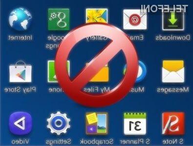 Samsung je močno poenostavil odstranitev privzetih aplikacij!