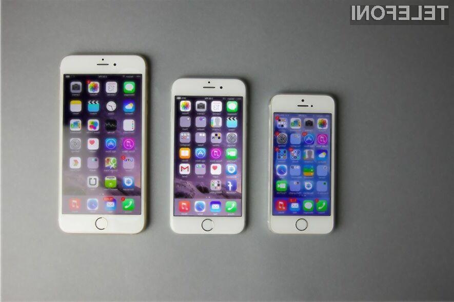 Apple letos s kar tremi novimi mobilniki iPhone?