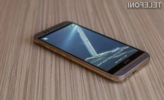 Pametni mobilni telefon HTC One M9 je pripravljen na spopad s Samsungom in Applom.