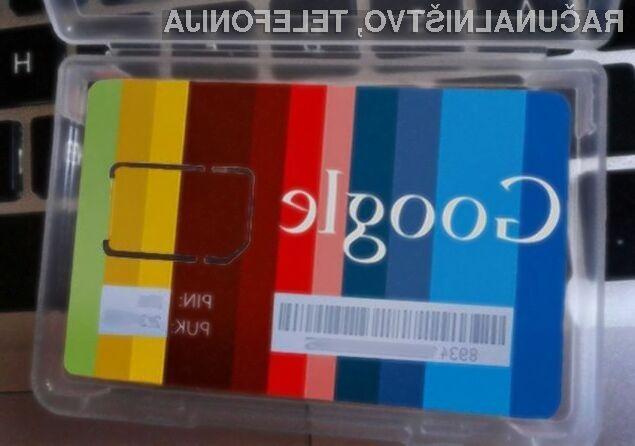 Google bo postal ponudnik storitev mobilne telefonije!