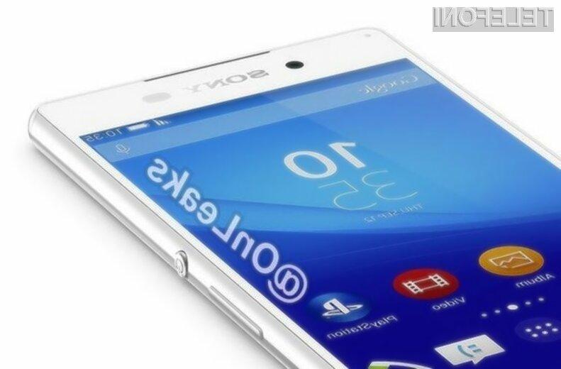 Pametni mobilni telefon Sony Xperia Z4 naj bi se zlahka prikupil najzahtevnejšim uporabnikom.
