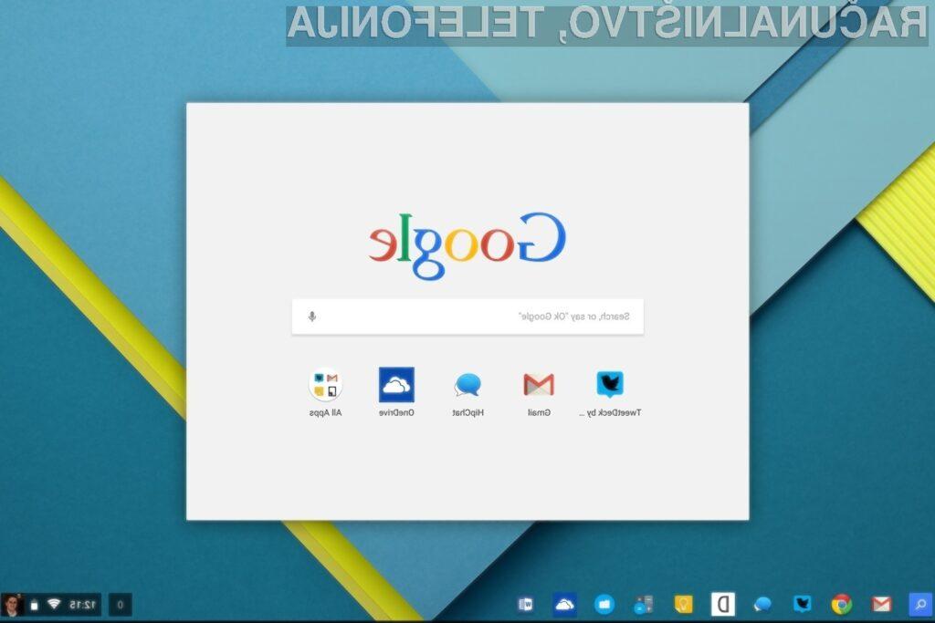 Prenovljeni Google OS z izjemnim grafičnim vmesnikom