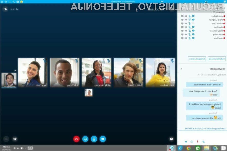 Poslovni Skype navdušuje v vseh pogledih!