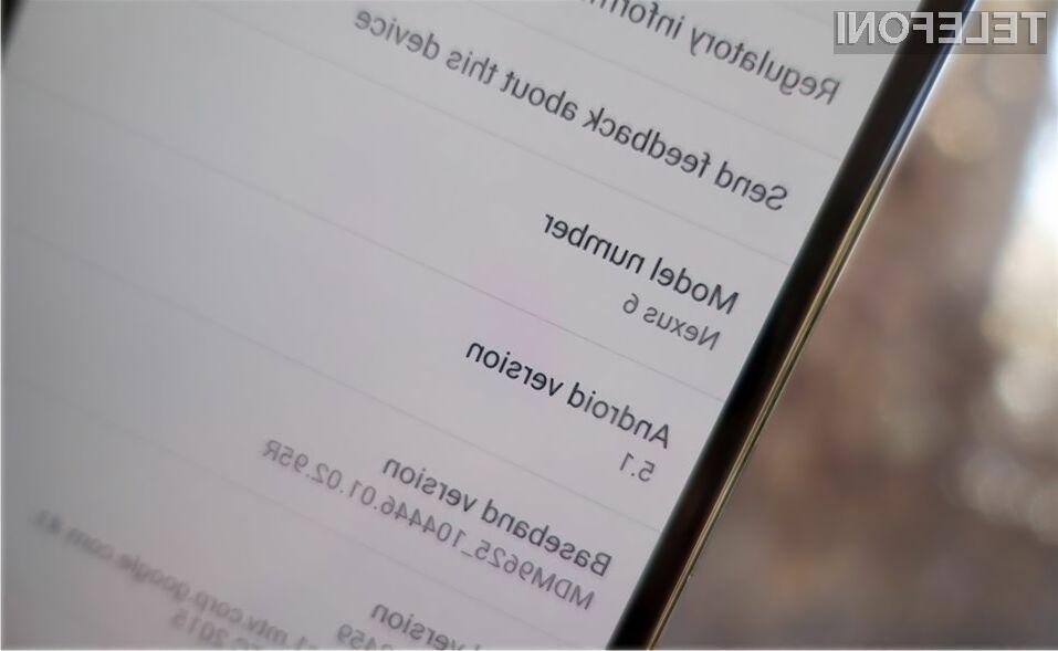 Nova različica Androida naj bi delovala povsem brez težav!