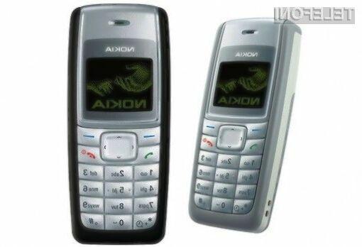 Nova Nokia 1100 bo zlahka kos izzivom sodobnega časa.