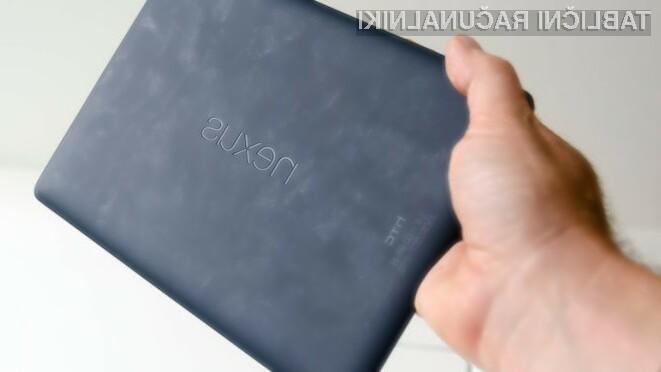 Tablica HTC Nexus 9 z izjemnim zaslonom in fotoaparatom?