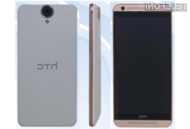 Mobilnik HTC One E9 naj bi bil naprodaj že v prvi polovici pomladi!