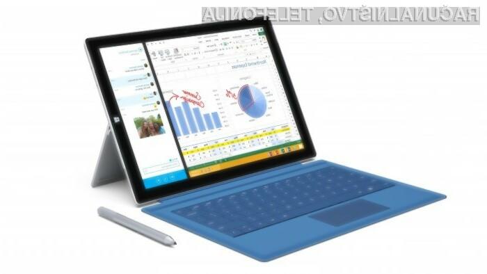 Microsoft Surface Pro 3 lahko brez težav povsem nadomesti osebni računalnik!
