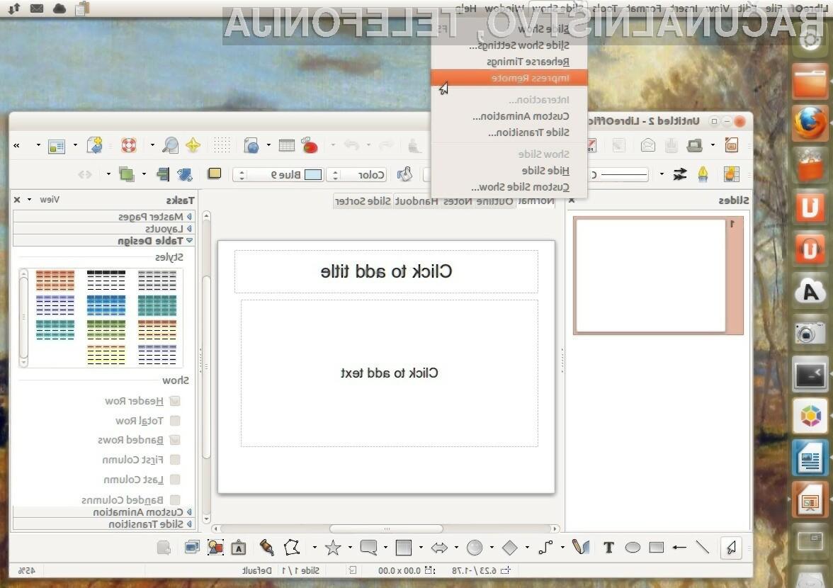 Oblačni LibreOffice naj bi zaživel že letos.