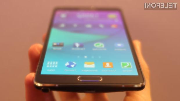 Samsung Galaxy Note 5 naj bi brez težav pometel s konkurenco.