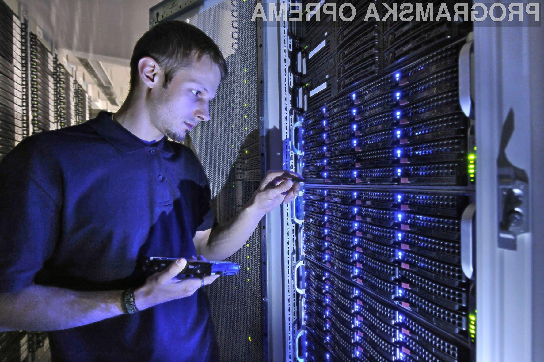 Povpraševanje po storitvah podatkovnih centrov bo v naslednjih petih letih v Evropi ustvarilo 341.000 novih delovnih mest.