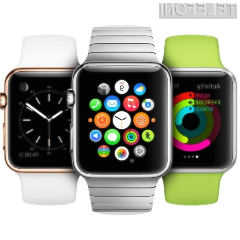 Pametna ročna ura Apple Watch bo na prodajne police izbranih držav zašla 24. aprila.