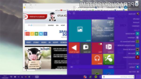 Novi Windows 10 Tehnical Preview je že dovolj stabilen za vsakdanje delo!