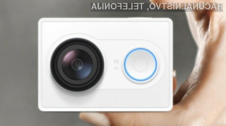 Cenovno dostopna akcijska kamera Xiaomi Yi se bo zlahka prikupila športnikom in rekreativcem!