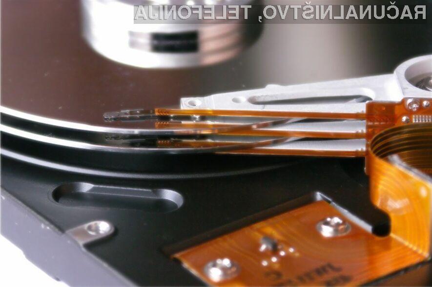 Zanimanje za trde diske je iz leta v leto manjše.