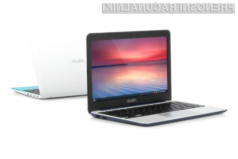 Prenosnik Asus Chromebook C201 nas kljub nizki ceni vsaj zlahka ne bo pustil na cedilu!