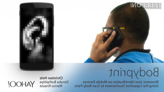 Zaslon na dotik v vlogi biometričnega skenerja!
