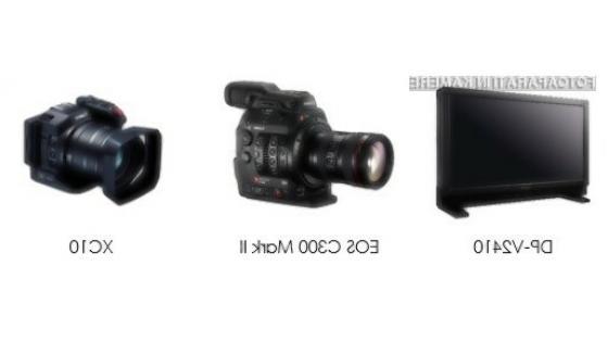 Canon z novim 24-palčnim referenčnim zaslonom 4K in zvezdniško zasedbo kamer 4K za profesionalce in ljubiteljske navdušence