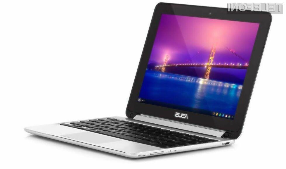 Prenosnik Asus Chromebook Flip je mogoče uporabljati ob vseh priložnostih.