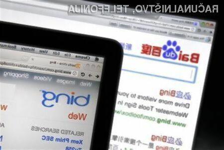 Kitajski spletni iskalnik Baidu pridobiva nove uporabnike kot za stavo.