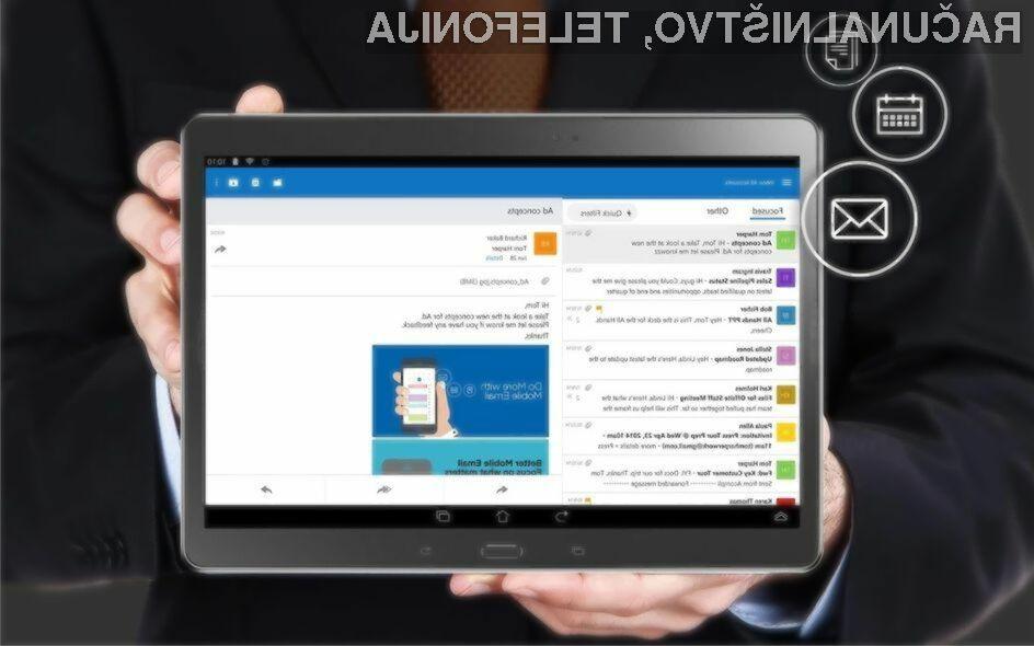 Novi Outlook za Android je izjemno priročen za uporabo!