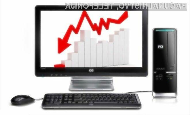 Za slabo prodajo osebnih računalnikov vsi krivijo Windows XP!