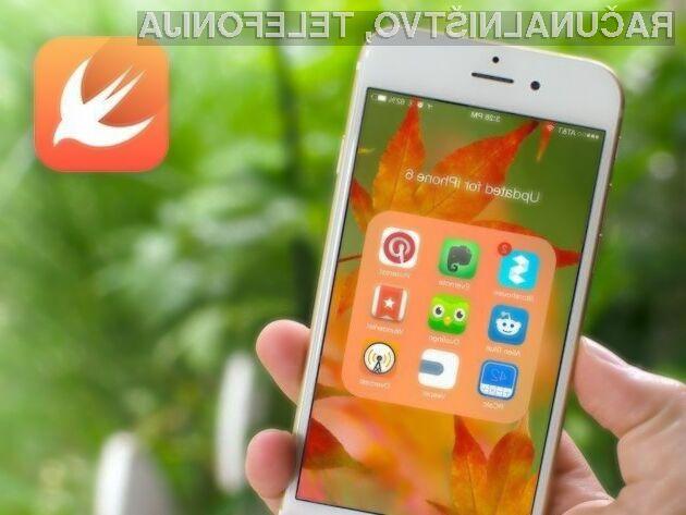 Apple Swift najbolj priljubljen med programskimi jeziki!
