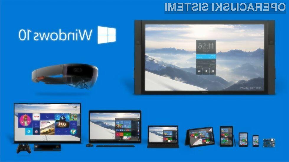 Windows 10 bo na voljo že v drugi polovici letošnjega julija!