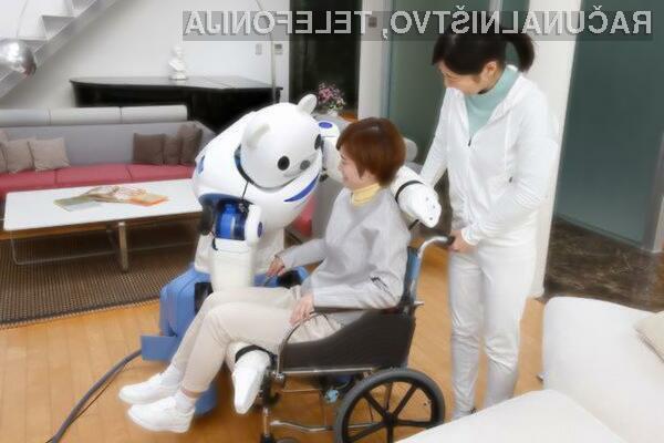 Robot Robear se več kot odlično obnese v vlogi zdravstvenega pomočnika.